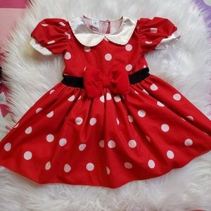 Baby Girl Minnie Mouse Dress Or Costume